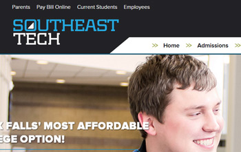 Southeast Technical Institute website