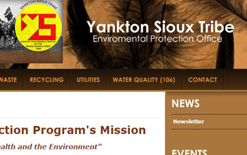 Yankton Sioux Tribe Environmental Protection Office website